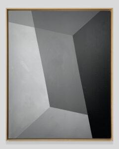 Jay, Frank, ¨COALESCENCE¨, 100cm x 80cm, Acrylic on canvas,wood frame